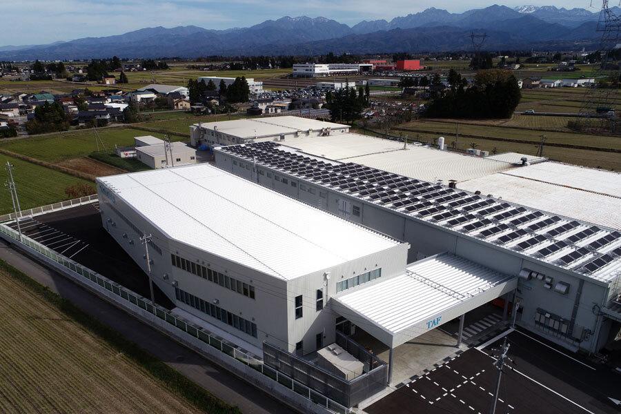 南工場太陽光発電