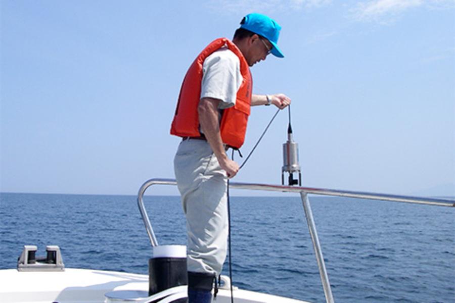 富山湾プロジェクトによる水質調査