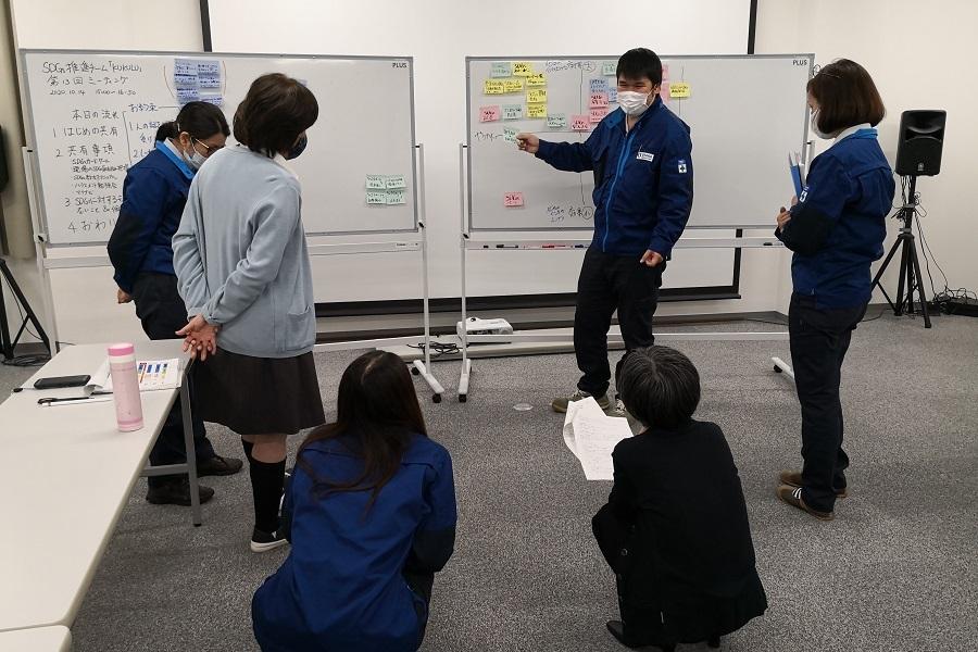 SDGs推進チーム「KUKULU」の検討会
