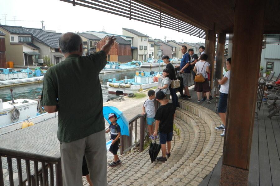 令和元年度環境保全ツアー(射水市 内川)