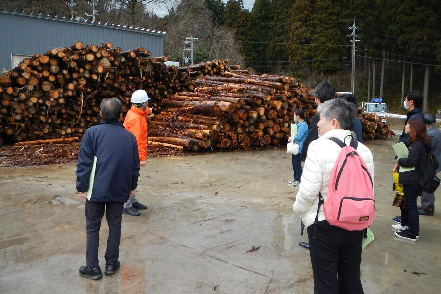 平成30年度環境保全ツアー(南砺市 ペレット製造工場)