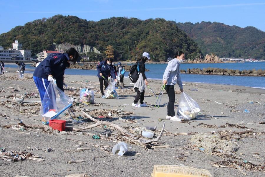 福井県:クリーンウォーキング・福井の美しい海を守ろう!