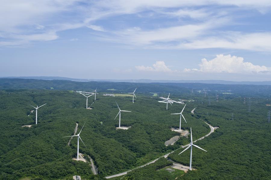福浦風力発電所