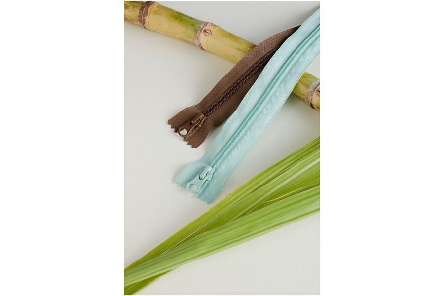 植物由来ポリエステルを使用したファスナーGreenRise®
