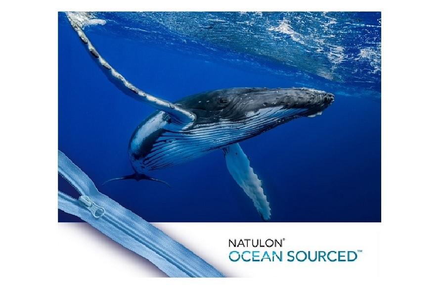 海洋プラスチックごみを使用したファスナーNATULON® Ocean Sourced®