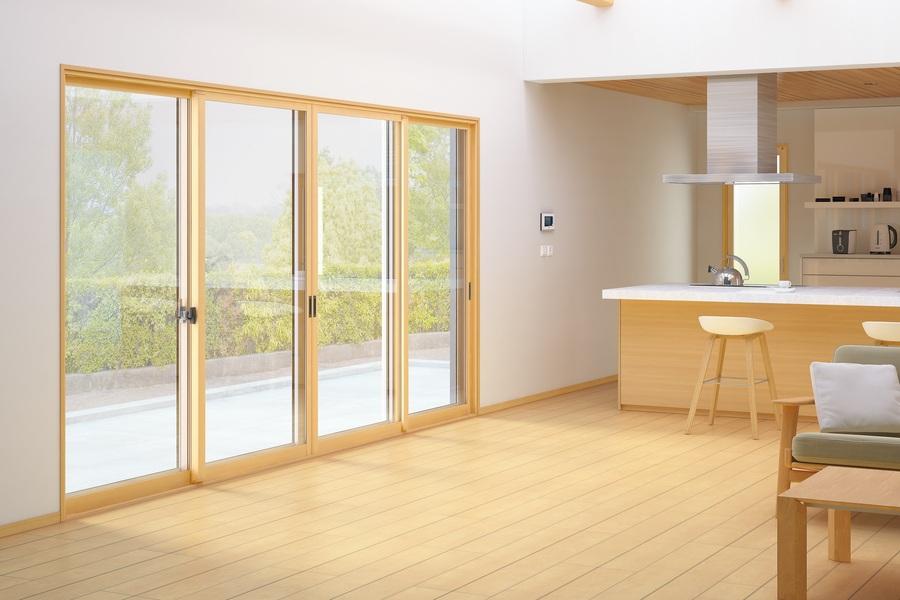 後付樹脂内窓「プラメイクEⅡ」 断熱性に優れているので、夏は涼しく、冬はあったかな、樹脂製の内窓