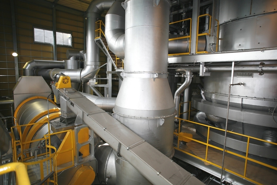 乾燥処理施設;JIS認定の製造工程として登録
