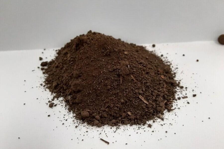 含水率10%以下の乾燥汚泥