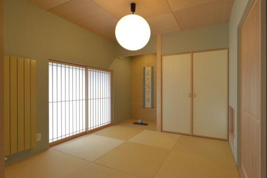 ピーエスHRヒータは、デザイン&カラーバリエーションに優れ和室にもマッチングします