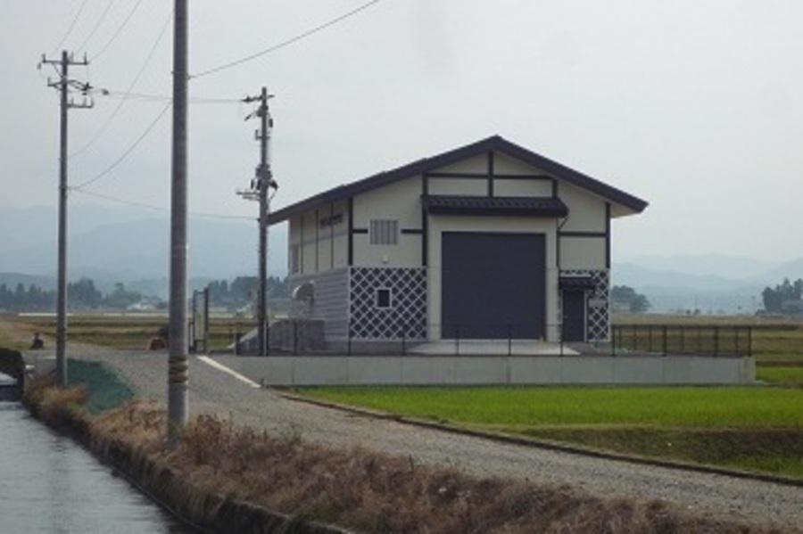 仁右ヱ門用水発電所
